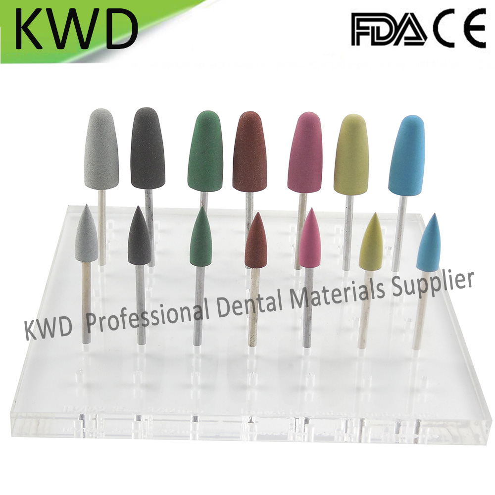 100pcs/Lot Dental Teeth Equipment Polishinng Tools Silicon Burs High Quality Bullet Silicone Rubber Prophylaxis Polishers-in Teeth Whitening from Beauty & Health    3