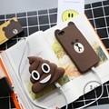 NOVA Defecar Tombadilhos Emoji banco do poder 3000 MAH powerbank portátil bateria Externa pacote carregador com pacote Bonito Dos Desenhos Animados