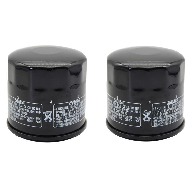 Cyleto Oil Filter For SUZUKI BURGMAN 650 ABS 2015 DL1000 DL 1000 V-STROM VSTROM 2002-2013 DL650 DL 650 VSTROM 650 2004-2015