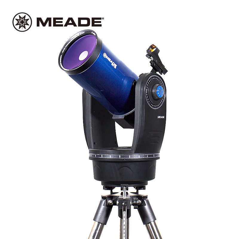 Meade Instruments ETX125 Observer Telescope with Tripod Equatorial Mount Reflector Astronomical Telescope entry level 3 inches 76 700mm reflector newtonian astronomical telescope black white