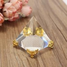 Elegant Energy Egyptian Clear Crystal Pyramid