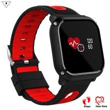 DB09 Cor Movimento banda Inteligente Bluetooth IP68 Passos Lembrete Sono Rastreador de Fitness Monitor de Freqüência Cardíaca relógio Inteligente IOS Android