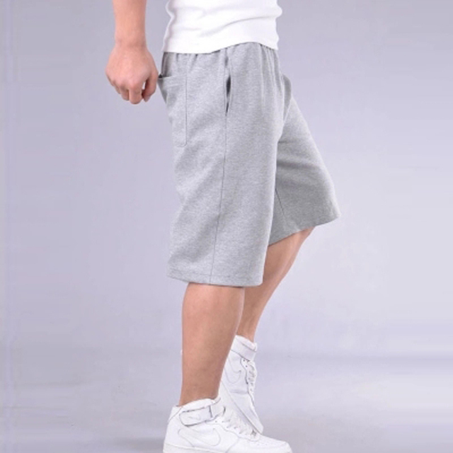 Big Size Shorts Men Solid Baggy Loose Elastic Shorts Cotton Casual Plus Size Shorts Extra Large Big Plus Size 4XL 5XL 6XL 7XL 20