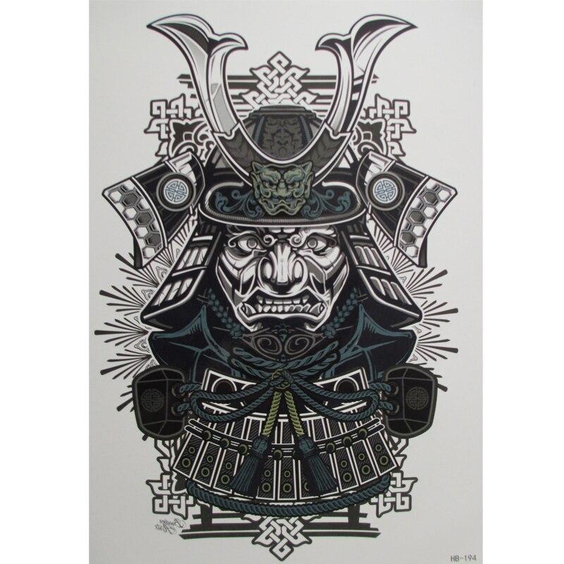 тату рисунки самурай