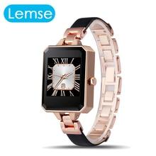 LEMFO LEM2 Reloj Inteligente Primera Bluetooth Smartwatch para Mujer Mujeres Pulsómetro MTK2502C APK para Apple IOS Android Teléfono