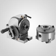 VEVOR 5 Semi Universal Dividing Head 3-jaw Chuck Tailstock Milling Machine Precise