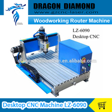 Mini CNC Router Machine 6090 woodworking router machine For cnc cutting engraving machine