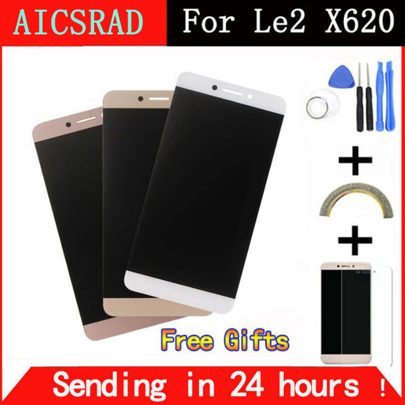AICSRAD Für Letv LeEco Le 2X620 Lcd-bildschirm LCD Display + Touchscreen Ersatz Zubehör für Letv X520 X527 Freies Verschiffen