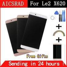 Получить скидку AICSRAD для Letv LeEco Le 2X620 ЖК-дисплей Экран ЖК-дисплей Дисплей + Сенсорный экран Замена аксессуары для Letv X520 X527 бесплатная доставка