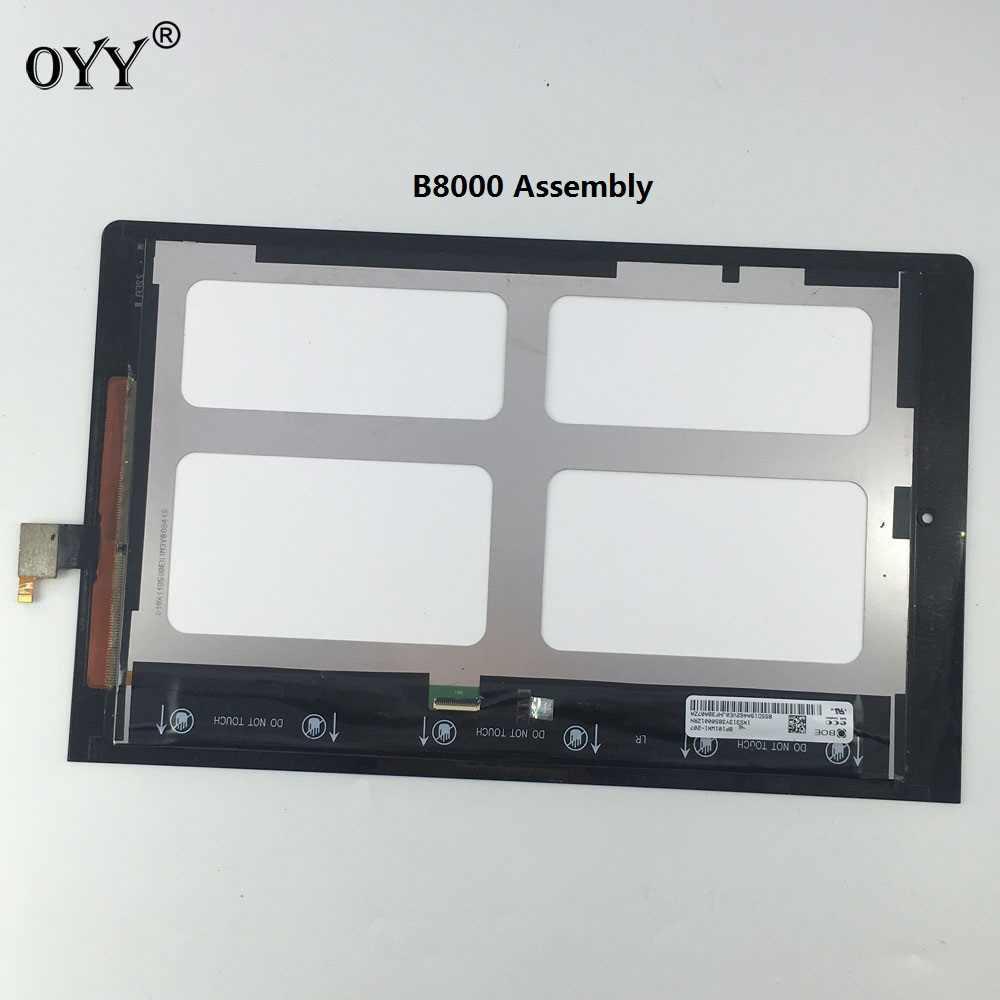 "Lcd ekran Paneli Ekran Monitör dokunmatik ekran digitizer Cam Meclisi 10.1 ""Lenovo Yoga 10 tablet B8000"