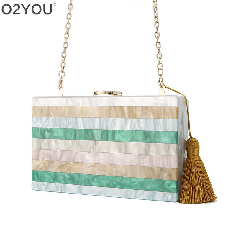 Colorful Striped Patchwork Acrylic messenger summer Bag women famous brand female Tasse day clutch Lady Acrylic Box Clutches Colorful Striped Patchwork Acrylic messenger summer Bag women famous brand female Tasse day clutch Lady Acrylic Box Clutches