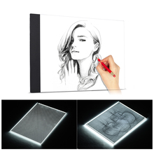 A4 LED Writing Painting Light Box Tracing Board Copy Pads Drawing Tablet Artcraft  USB Powered Ultra-thin цены