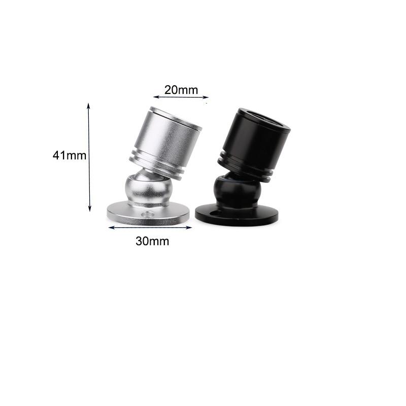 Miniluminária led para teto, holofote leve 1w 3w ac 110v 220v