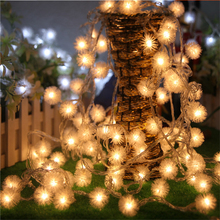 10m 80LED RGB LED String Lights Festival Christmas Garland Lights Garden House Decor Party Wedding Lights Fairy Lights Art Decor