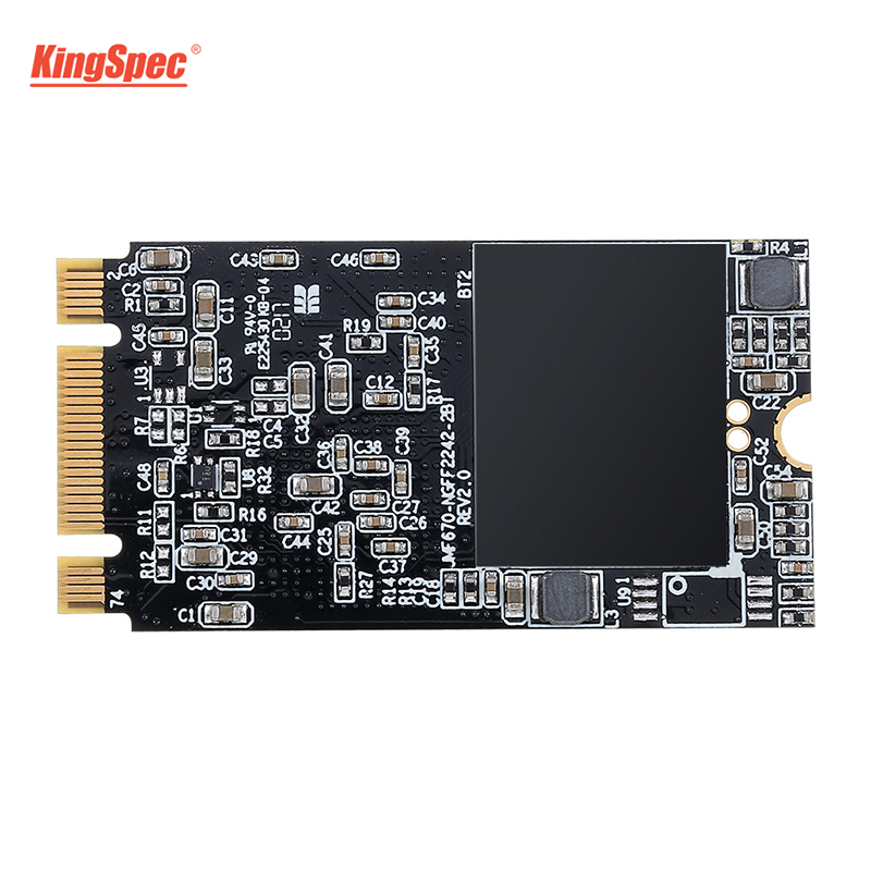 US $32 9 22% OFF|Kingspec SSD 128GB M 2 NGFF Module internal Solid State  Drive 22*42 hd 120GB/128GB SATAIII for ThinkPad E53/E43 Laptop computer -in