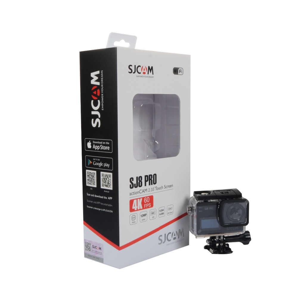 SJCAM SJ8 Pro & SJ8 Plus & SJ8 Air WiFi Пульт дистанционного управления шлем Спортивная Экшн-камера полный набор аксессуаров большая коробка-100% оригинал SJCAM