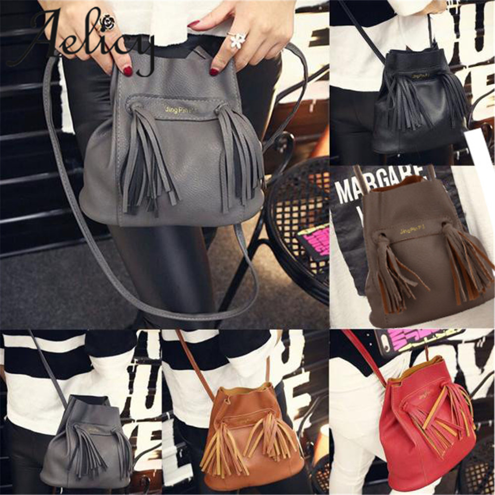 Aelicy 2018 Hot New Fashion girls shoulder bag Light High Quality Women Girls Leather Tote Purse Messenger Satchel Bag