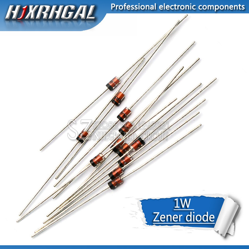 250Pcs 1N4745 1N4745A IN4745 ZENER DIODE 1W 16V Diode DO-41 DIP