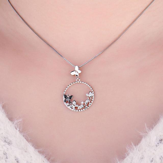 Butterfly Sterling Silver Pendant