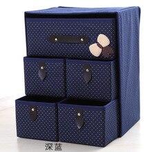 Толстый не трикотажный склад коробка богемные складные хранения сезон горячий ящик коробка FC0131