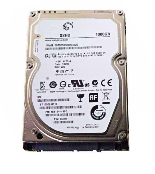2.5 inch SSHD WITH 8G 1000GB ST1000LM014 ORIGINAL HARD DISK DRIVE