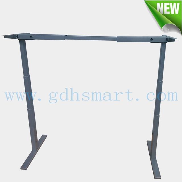 Office Furniture Standing Desk U0026 Intelligent Height Adjustable Desk With  Electric Motor U0026 Adjustable Metal Frame