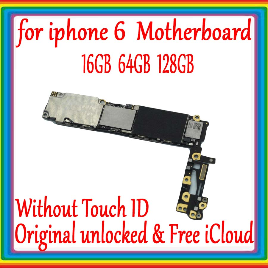 with IOS System for iphone 6 4.7inch Motherboard without Touch ID,16GB 64GB 128GB for iphone 6 Mainboard 100% Original unlockedwith IOS System for iphone 6 4.7inch Motherboard without Touch ID,16GB 64GB 128GB for iphone 6 Mainboard 100% Original unlocked