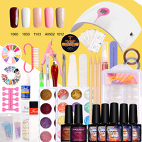 Manicure Set Lamp For Nail Kit 36W LED Dryer 10ml UV Gel Nail Polish Set Gel Varnish For UV Gel Nail Art Set Tools For Manicure