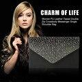 New Fashion 4 Color Elegant Woman Diamond Plated Evening Party Wedding Bag Single Shoulder Bag Hot Selling