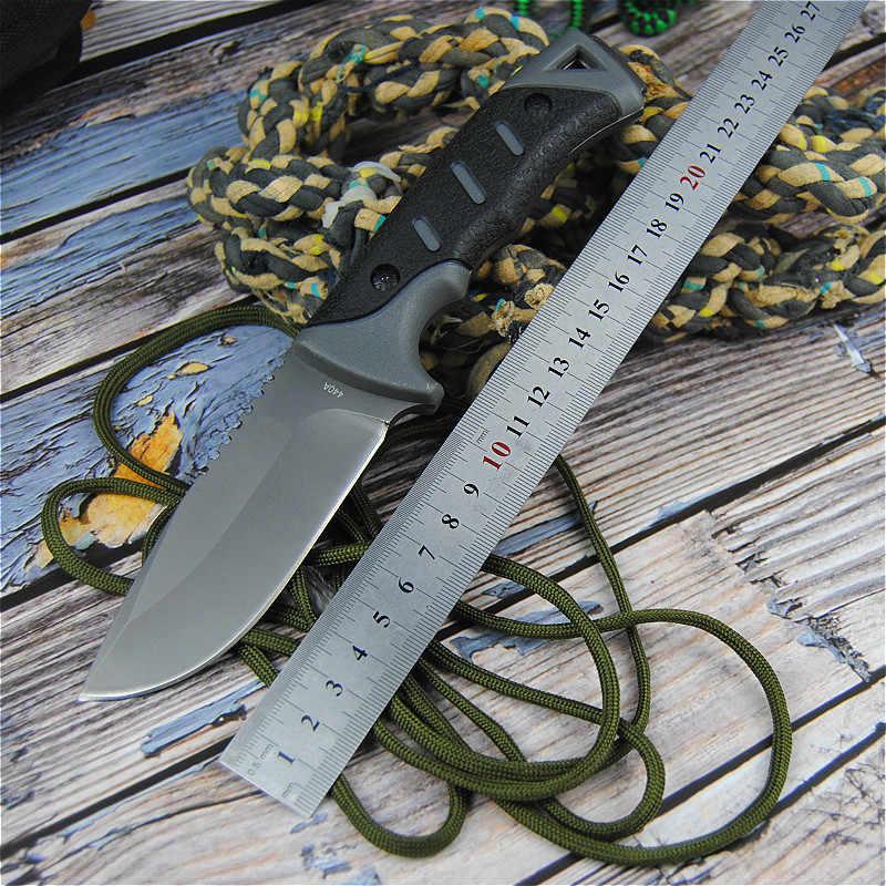 EVERRICH wędkarski nóż do nurkowania nóż myśliwski narzędzia kempingowe nóż taktyczny kompletny lub ząbkowany ostrze stałe nóż + pochwa!