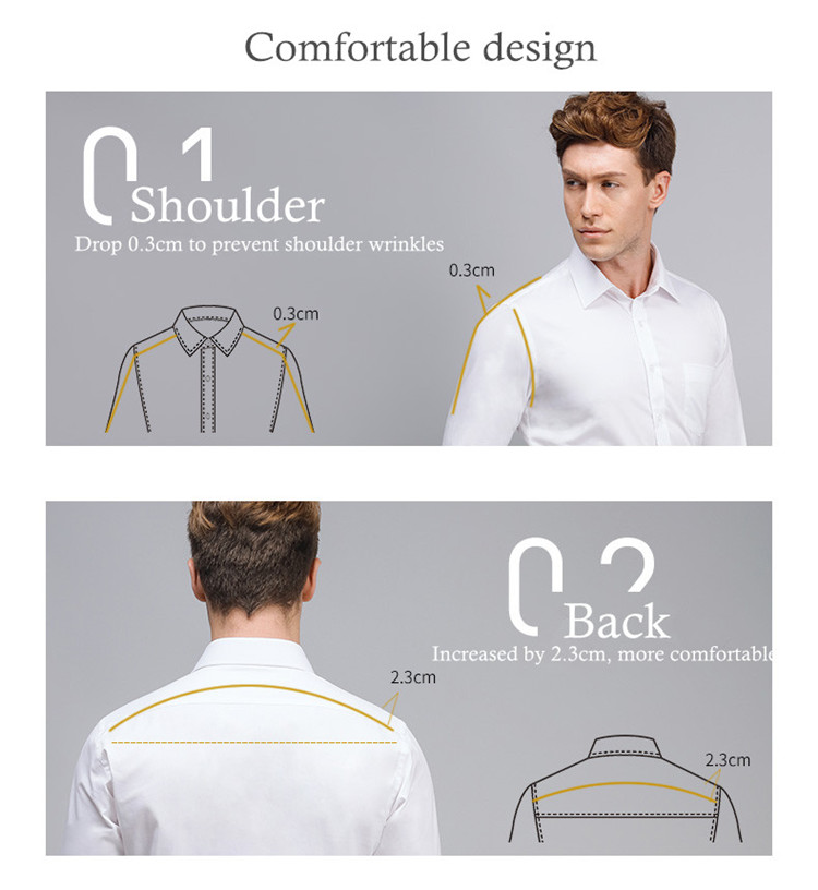 HTB1FhVBtNuTBuNkHFNRq6A9qpXaQ - 2019 Men Dress Shirt Long Sleeve Slim Brand Man Shirts