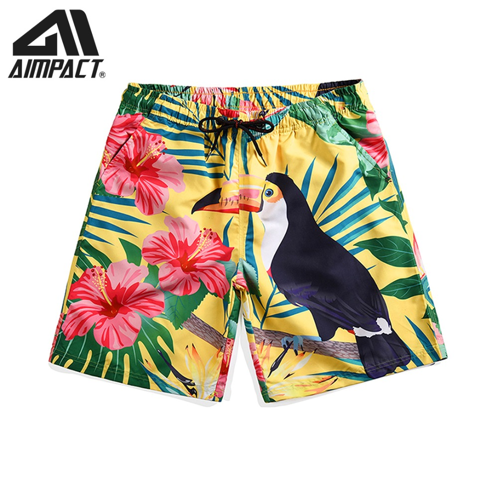 Quick Dry 3D Bird   Board     shorts   for Men New Summer Beachwears Casual Male Swimwear   Shorts   Surfing Swim Trunks By Aimpact AM2121