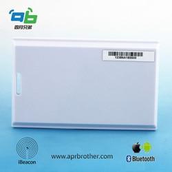 Card Beacon with iBeacon & Eddystone Tech 3-5 Years