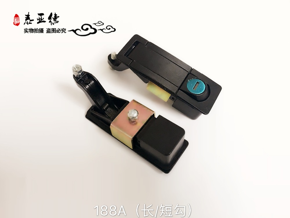 Bus part yutong kinglong higer zhongtong bus Instrument desk lock 188A with short leg free shipping one piece