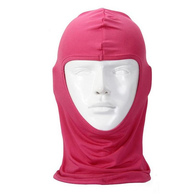 New Classic Lycra Ski Face Mask Bike Bicycle CS Sports Football Mask Balaclava Headband headgear halloween face mask #2a (13) -