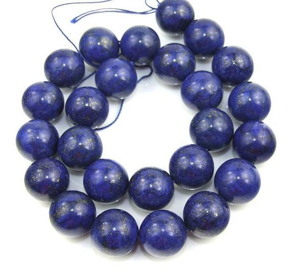 Unique Pearls jewellery Store 16mm Round Lapis Beads Gemstone Beads Full Strand 15Unique Pearls jewellery Store 16mm Round Lapis Beads Gemstone Beads Full Strand 15