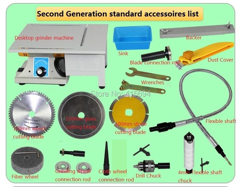 Seconda generazione! levigatrice, rettificatrice per tavolo Jade, - Utensili elettrici - Fotografia 3