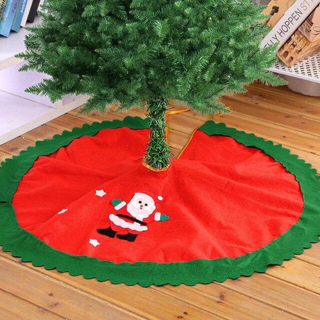 Del Cm 90 Falda Navidad Bevigac Santa Árbol De Feliz qH5IF