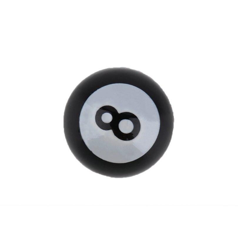 "4 Pcs Universal Car Truck Bike /""Pool 8 Ball/"" Tire Valve Stem Caps Wheel Rims Ec"