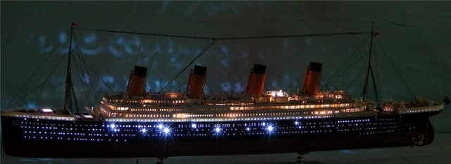 Titanic Model Building Kits Vergadering Plastic Schip Model Met ...