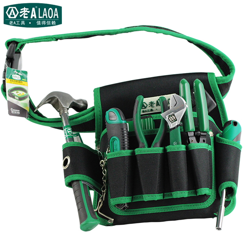 LAOA Multi-fonction Telecommunications Toolkit  Tools Bag 600D Water-proof Oxford Tools Bags Size 19cm*29cm