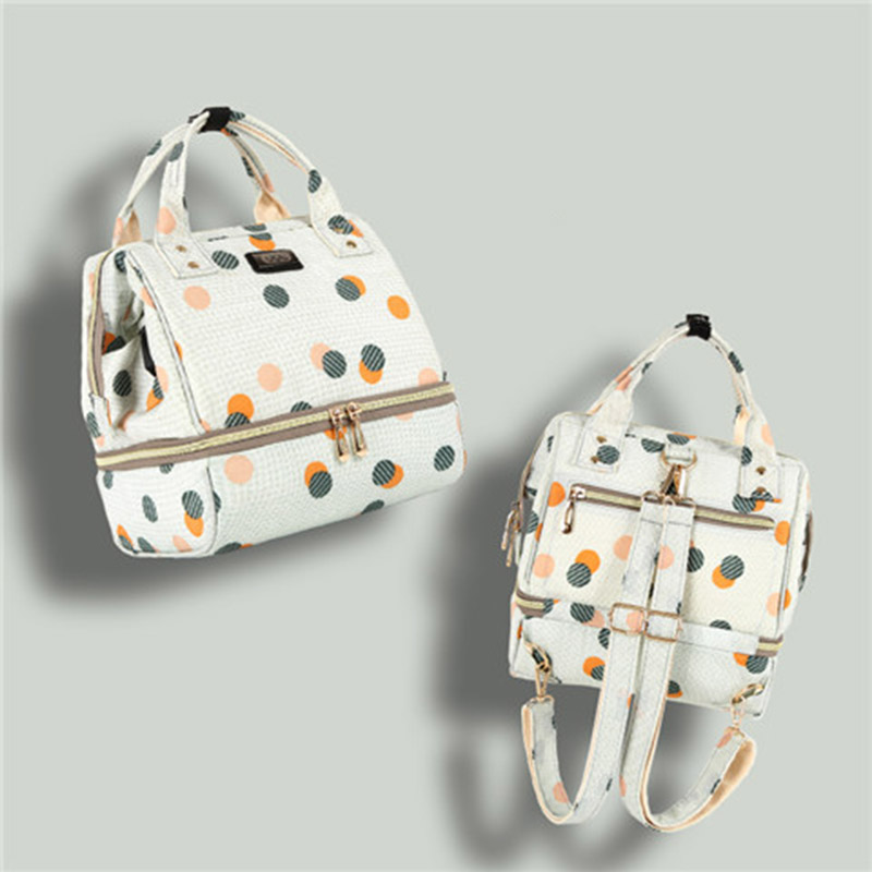 HTB1FhXFd.CF3KVjSZJnq6znHFXaL Diaper Bag Mummy Maternity Bag For Baby Small Waterproof Baby Nappy Changing Backpack For Moms yoya Stroller Organizer Baby Bag