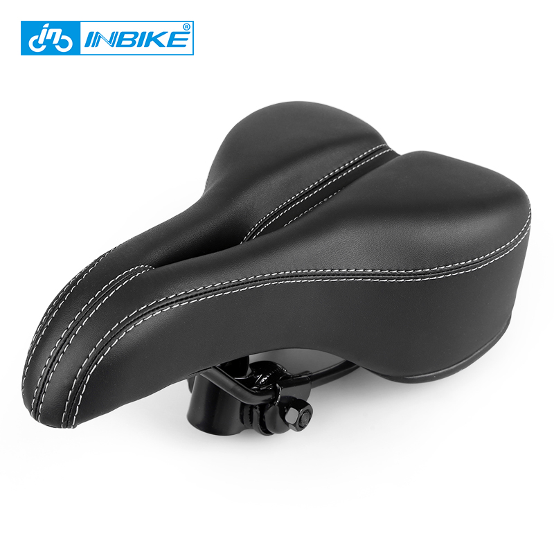 INBIKE Comforteble Bicycle Seat Soft Bike Saddle MTB Bicycle Saddle Road Bike Saddle Leather Front Seat Chusion Cycling Parts italy fizik arione mtb saddle bike seat racing cycling saddle road bicycle saddle bike parts 4 colors