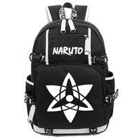 Japan Anime Naruto School Backpack Bags Shoulder Bag For Students Casual Women Men Large Rucksack Laptop