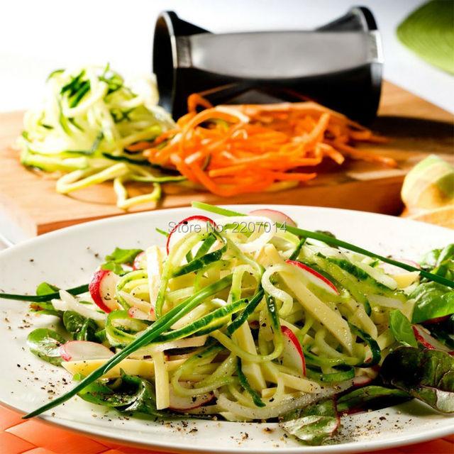 Vegetable slicer chopper spiral twister cutter kitchen spiral slicer Kitchen Tools spirelli
