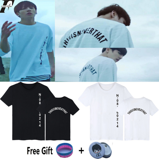 THIS IS NEVER THAT BTS T-SHIRT (4 Models)