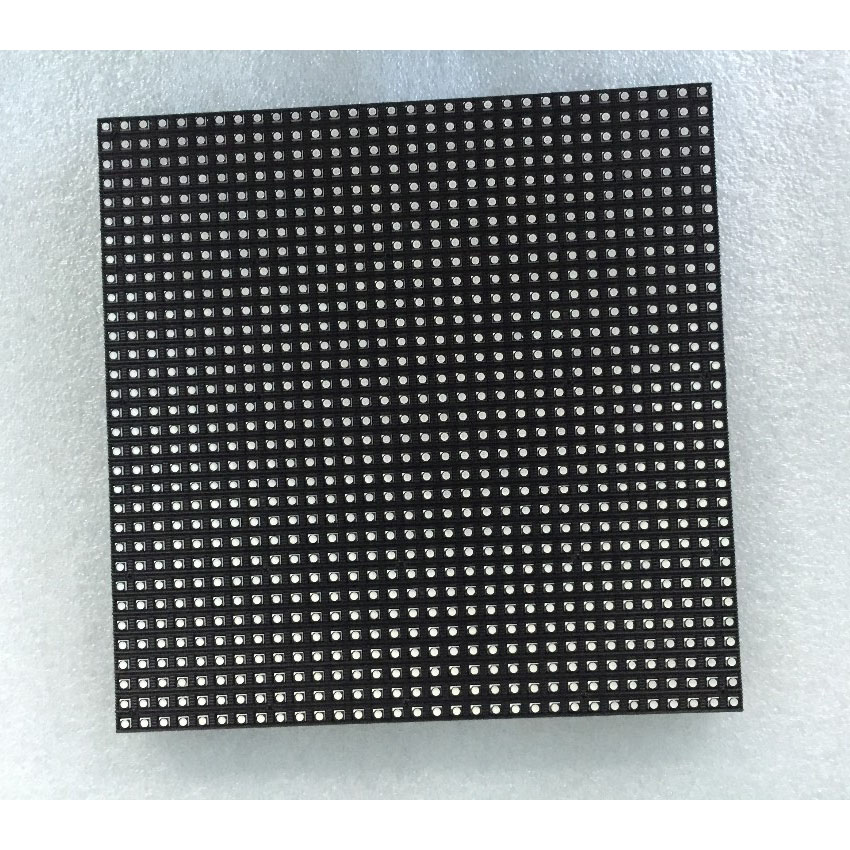 Indoor P6 Module 192*192mm SMD3528 6mm Pixel 32*32 1/16S Grb Full Color Led Screen Panel