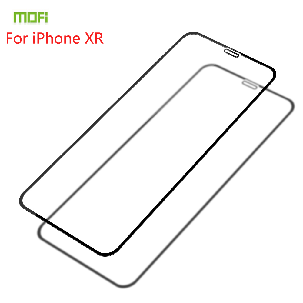 For iPhone XR Tempered Glass MOFI Full Screen Coverage Protector Film 6.1