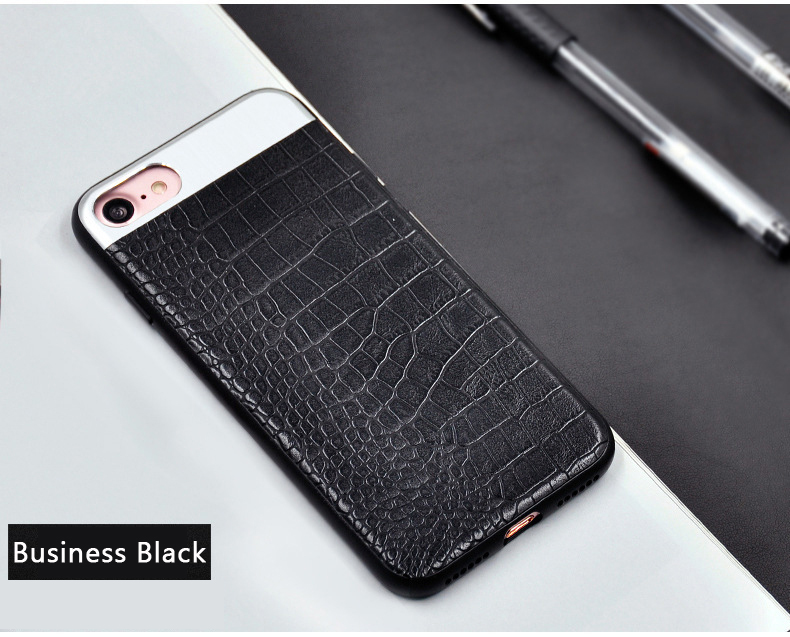 Kasatin Corrodie Pattern Leather Back Cover for iPhone 6 (9)