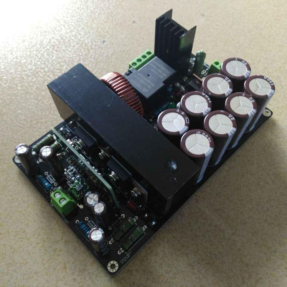 В собранном виде Hi-Fi IRS2092 + IRFB4227 подойдет как для повседневной носки, так класса D Мощность усилитель доска 1000 Вт +-65 V +-80 V